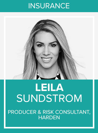 - Leila Sundstrom is a Commercial Insurance Producer and Risk Consultant for Harden, one of the Southeast's leading insurance, risk management and employee benefits firms headquartered in Jacksonville, FL.Click for more