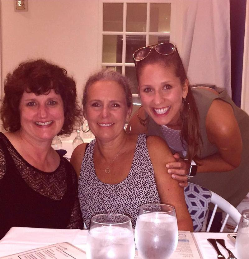 "Linda in Pensacola, Florida for a strategic planning session with her ""Partners in Change"", Michele Lucia and Nicole De Masi of ADL Speakers."