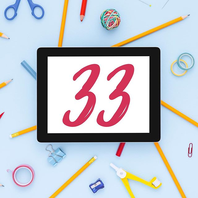 33 days till school starts! . Can you believe it? This summer is flying by! What would you like to do before back to school?
