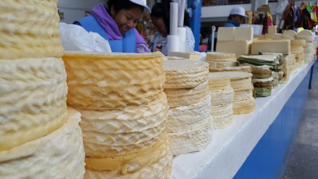 Cheesemakers in the Markets at the Sacred Valley