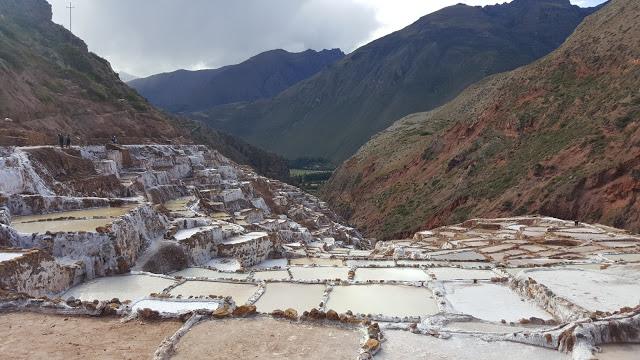 Visiting the Maras Salt Mines