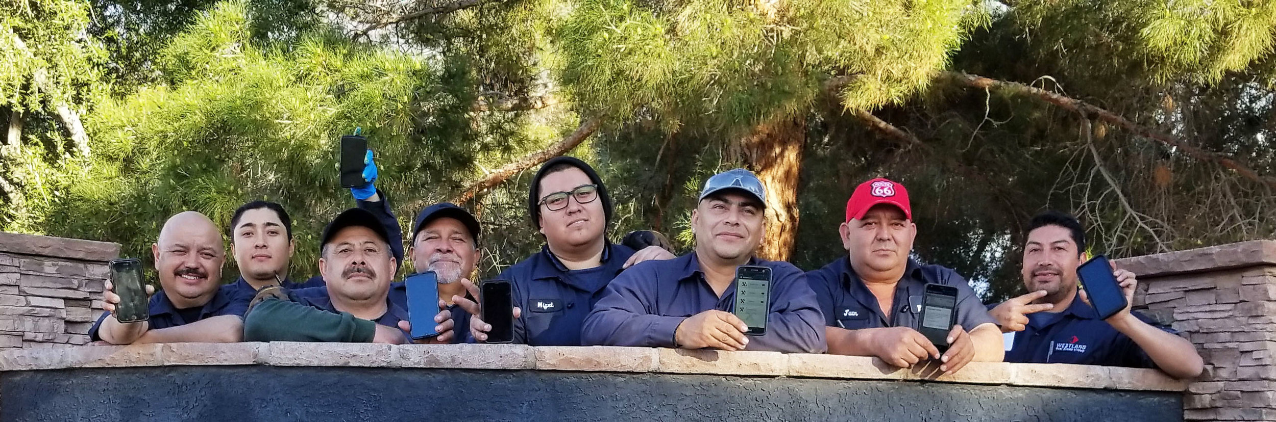 Our Harmon Hills Maintenance Team.