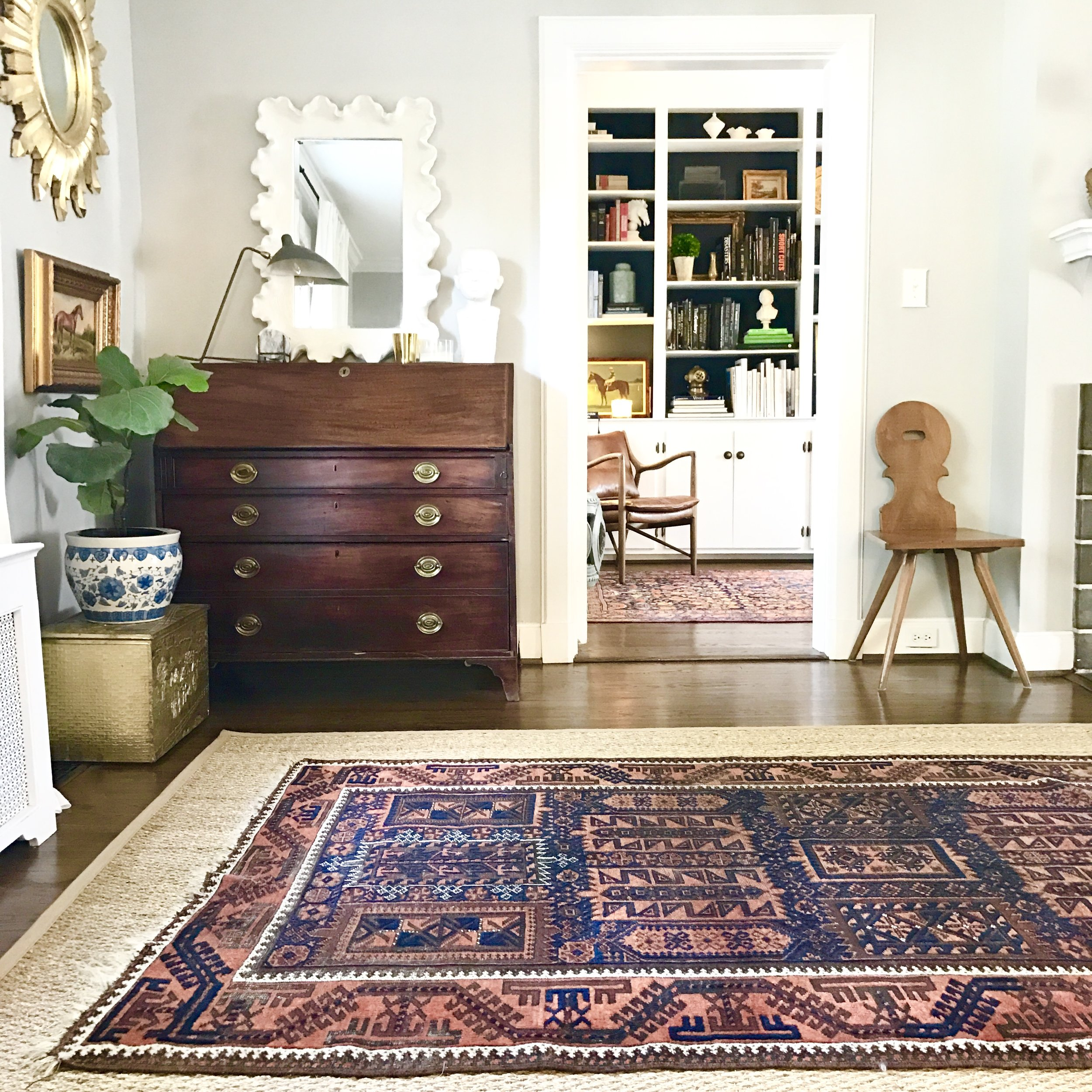 Rugs - We are collectors of vintage, hand-woven rugs, sourced from all over the world and curated with you in mind. We hope you'll connect with them the way we do - one storied piece at a time.