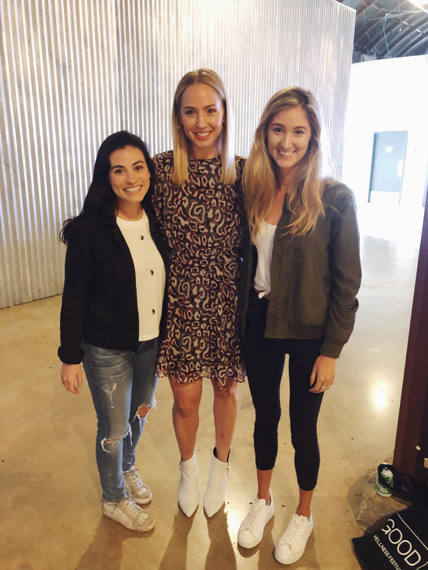 Ali and I loved meeting Lindsey Simcik from the Almost 30 Podcast!