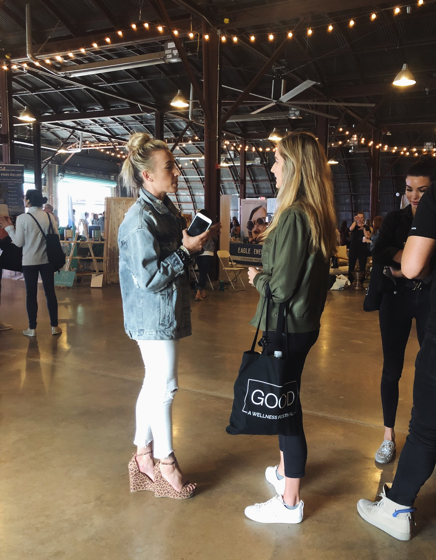 Chatting up Bizzie gold, the queen of personal development and entrepreneurship - she's started five brands/businesses, including buti yoga.