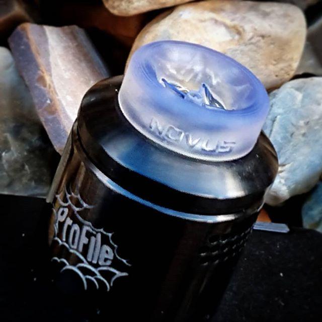 Take your Novus Tip out into the daylight for a soft blue glow!  #driptips#vapedaily#driptip#vapes#justthetip#vape#vapeporn#vapenation#vaper#vapers#vapefam#vapelife#vapestyle#vaping#vapingcommunity#vapingisthefuture