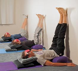 restorative yoga teacher training — ananda