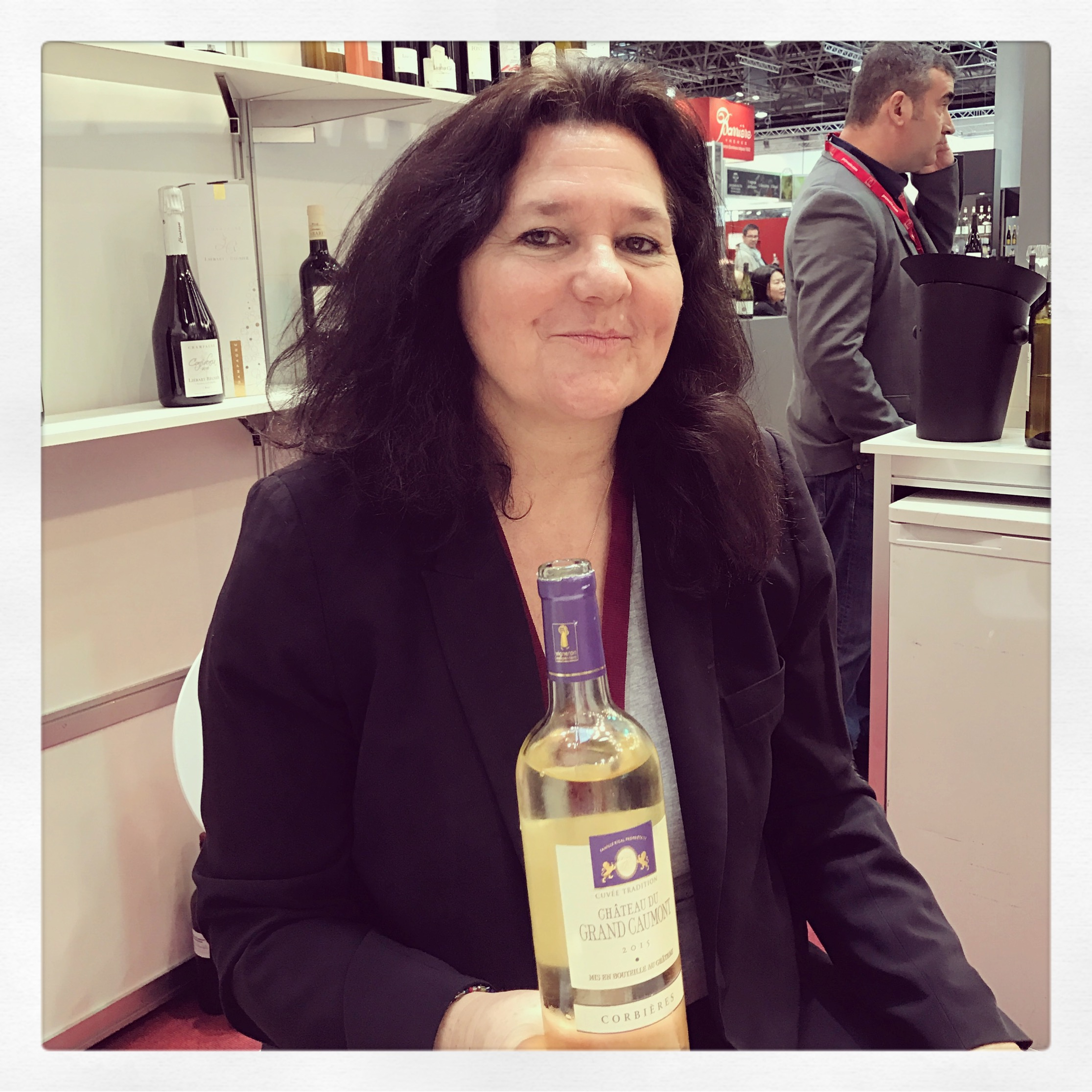 ProWein 2017_Laurence Rigal_Chateau du Grand Caumont.JPG