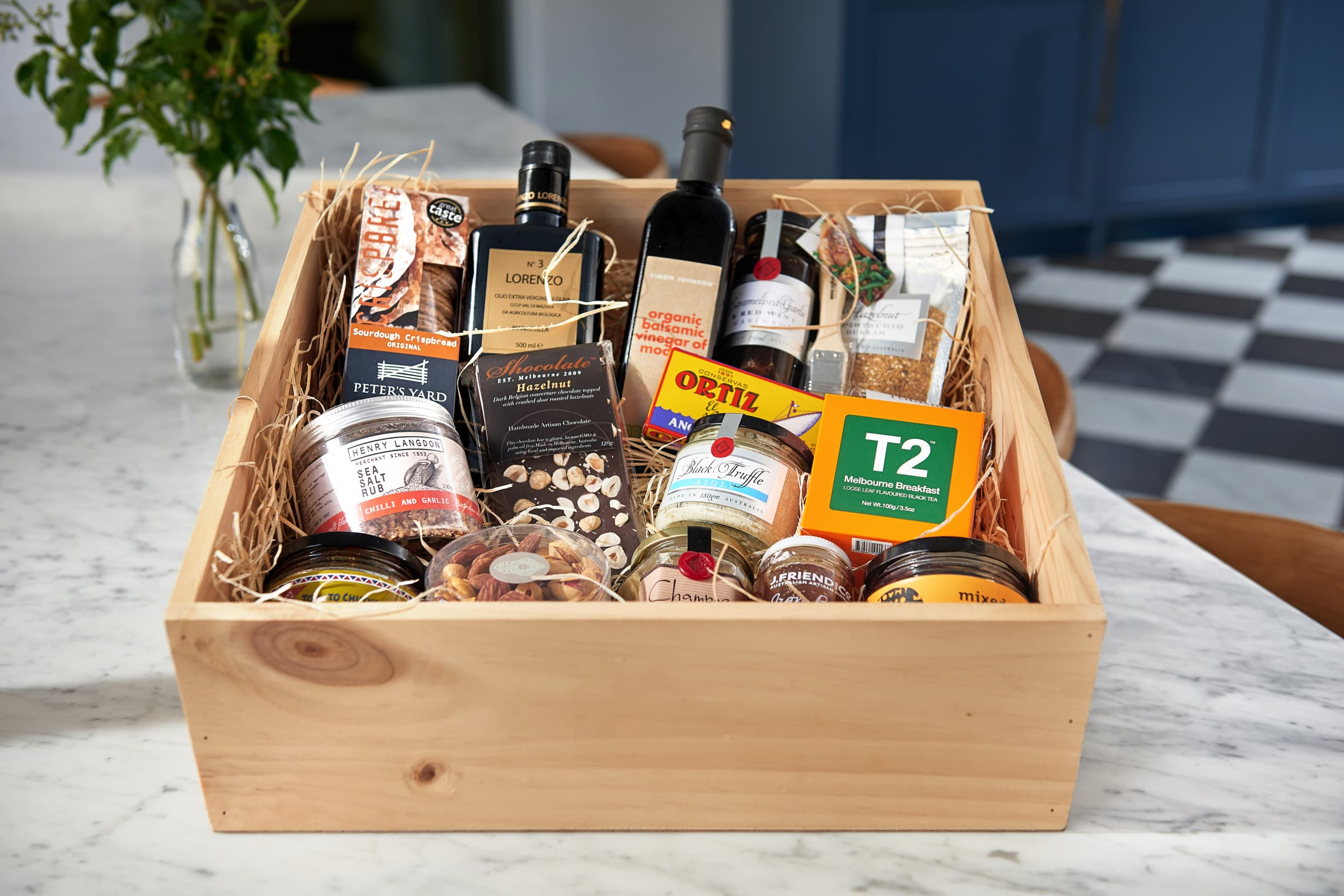 Hampers & Gifts - We package together the perfect gift hamper for your event, occasion or special celebration.