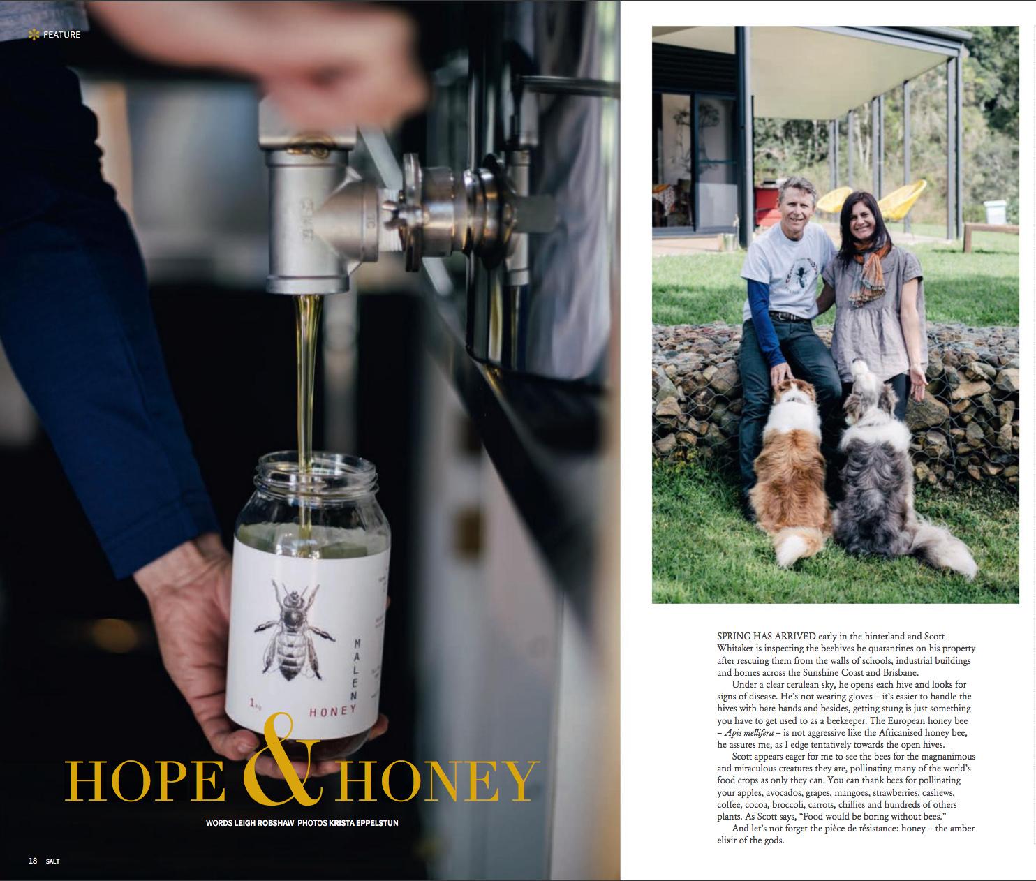 SALT Magazine, Spring 2018  Words  Leigh Robshaw  Photos  Krista Eppelstun