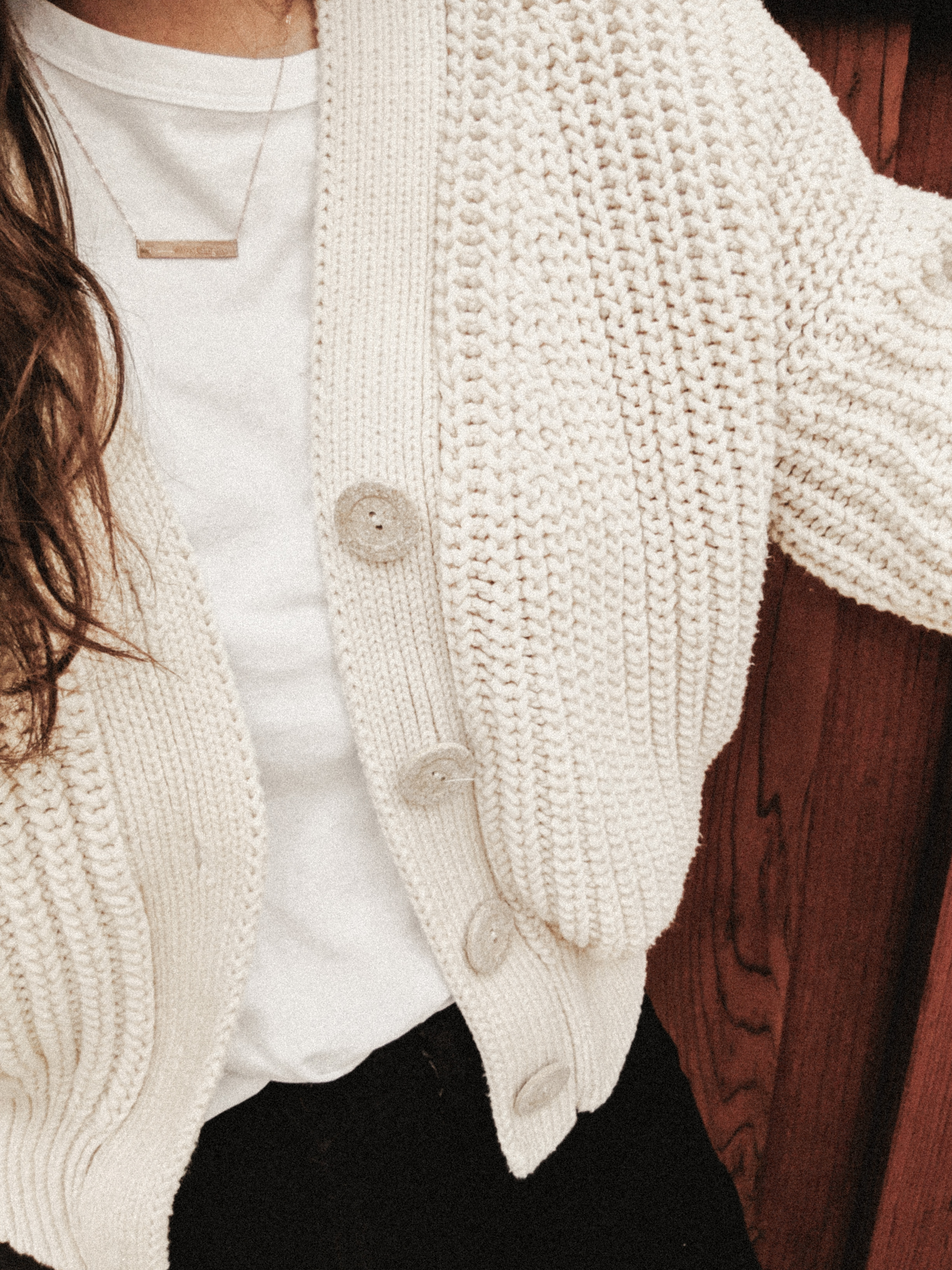 3. Babaa Knitwear Cardigan no18 - Do I really need to say anything here? I am fully on the Babaa train. I got so many compliments, and it kept me feeling snug and safe. I would die for this sweater.(I'm joking??)
