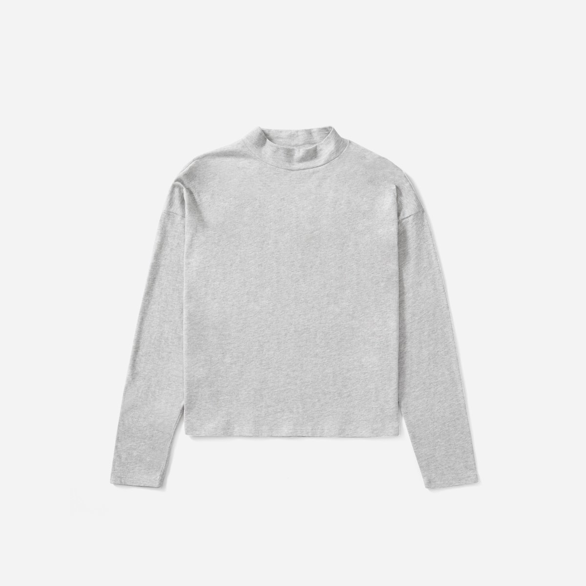 The Square Mockneck Tee - Size Small