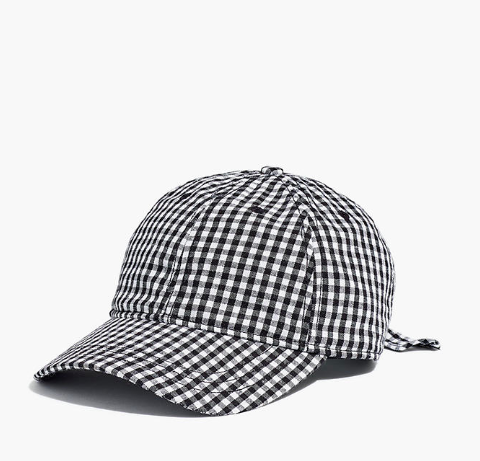 gingham hat madewell