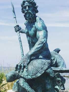 Statue of Neptune - Cape Charles Virginia