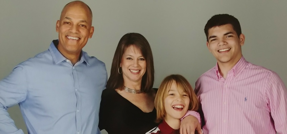 """Robert and his family (the original """"fit family!"""")"""