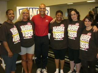 """Gym owner and lead trainer Robert Dothard was a trainer for  """"Atlanta's Biggest Loser.""""  He knows many clients are looking to focus on weight loss; no matter what goal you have, we will work with you, bringing positivity and support to make your dream fitness goals a reality.    Read more about our team."""