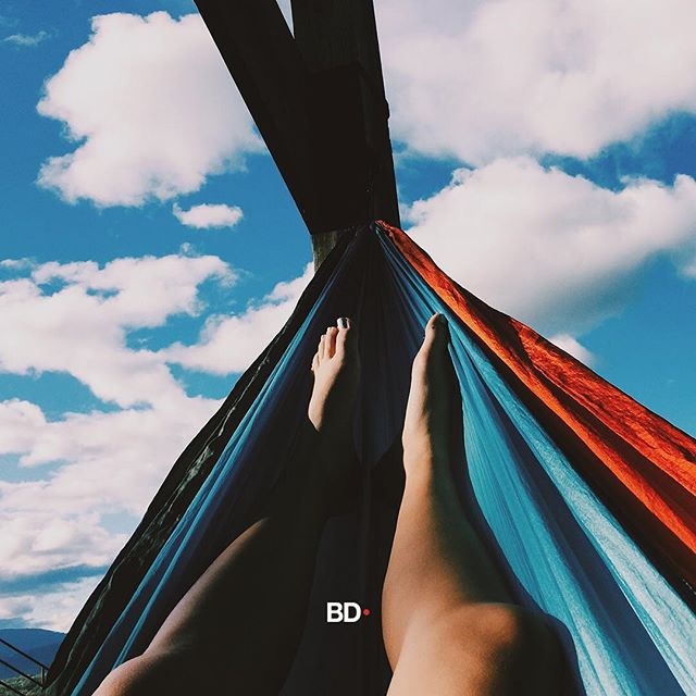 Our ideal #humpday smoke spot: in a hammock, happy clouds in the sky, and way warmer weather! The country as a whole will need a jacket this weekend. (Floridas high today will be 71° and then it's all down hill from there) Where are you from and where is your favorite smoke spot? #cannabiscommunity