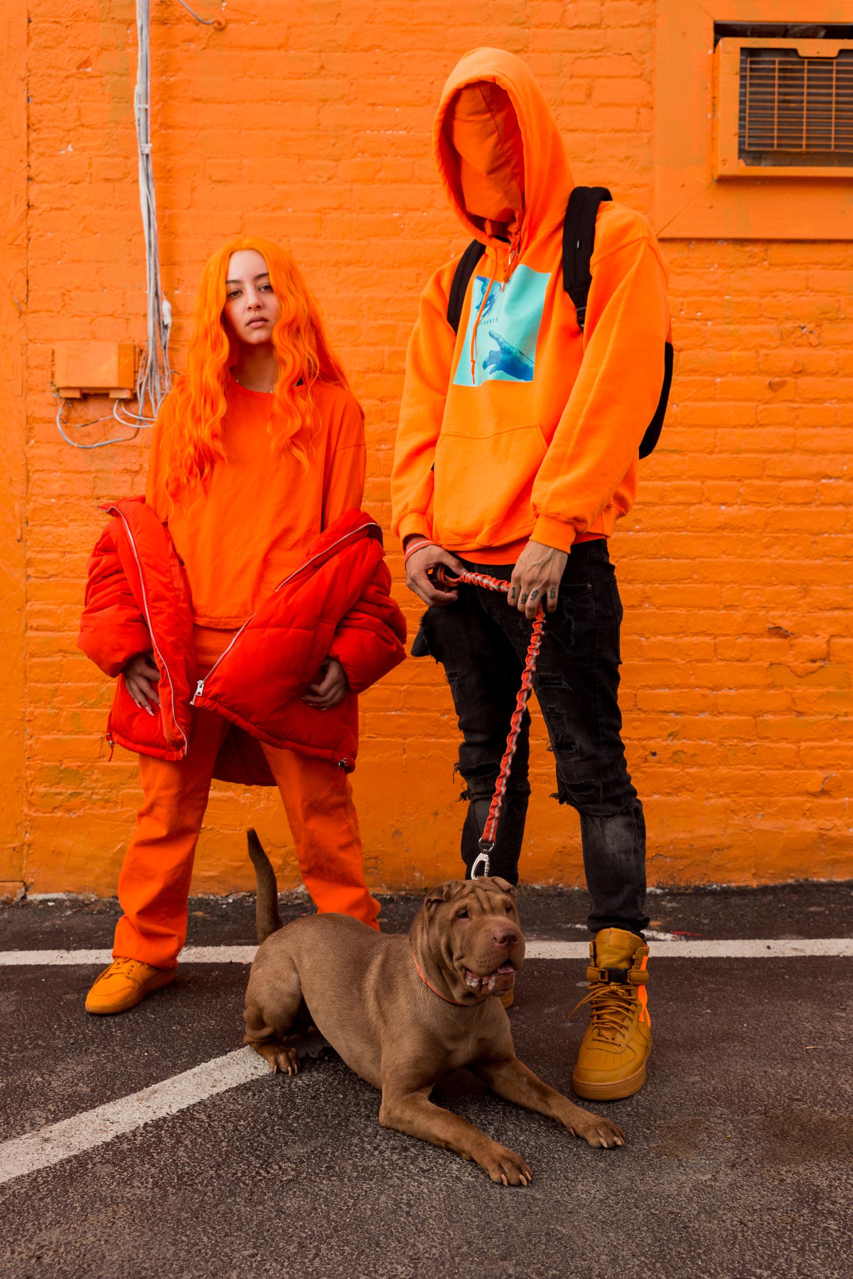 Color theme: Orange