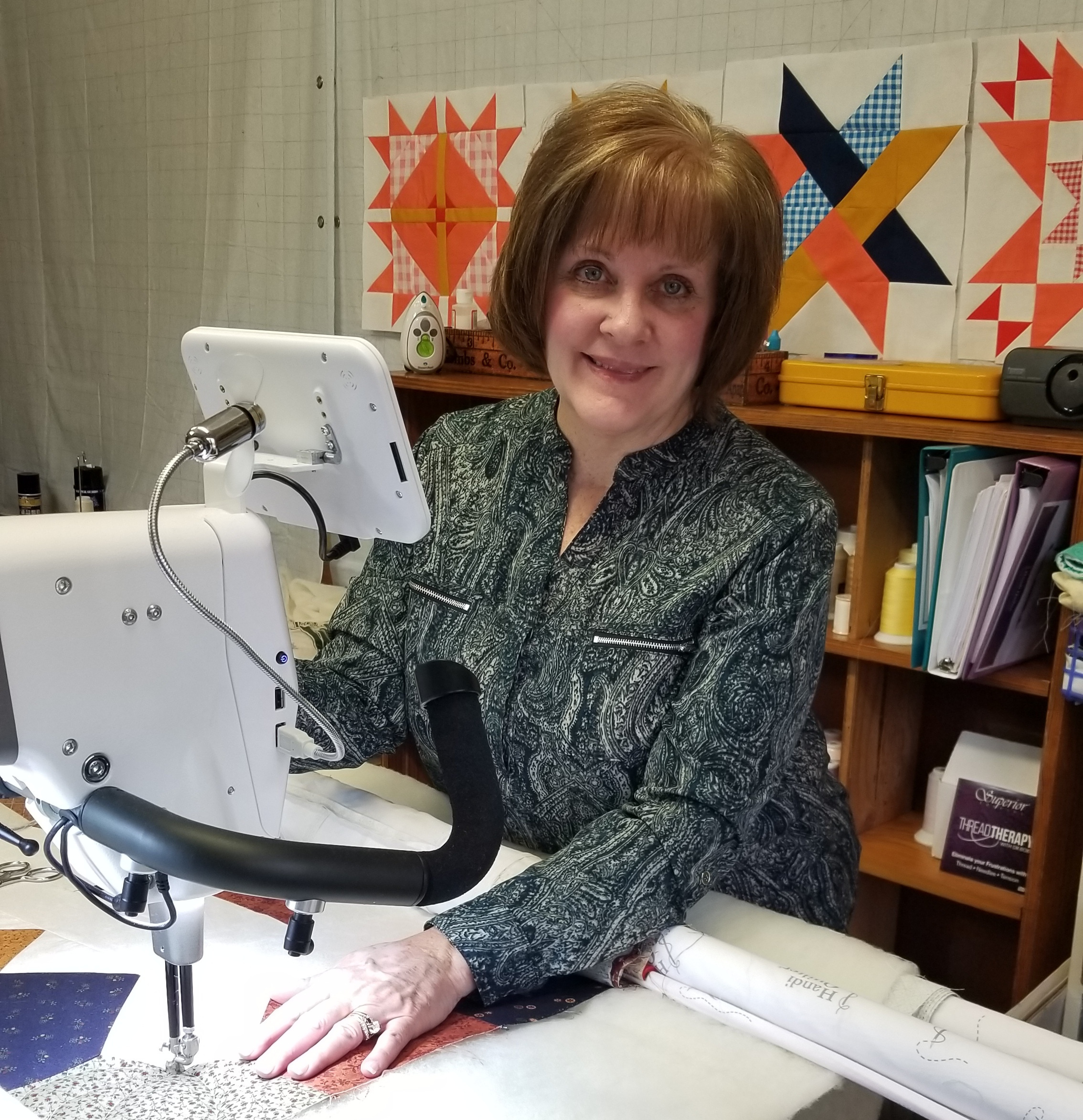 Free-Motion Quilting on the Amara