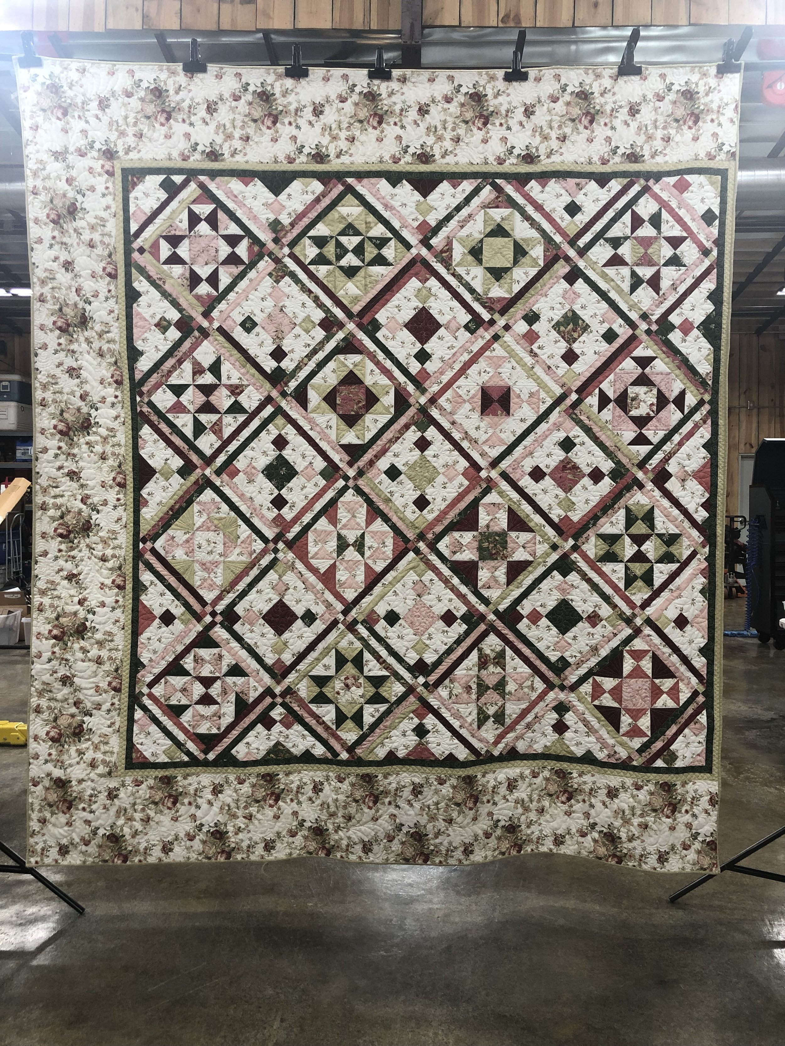 King Quilt Front