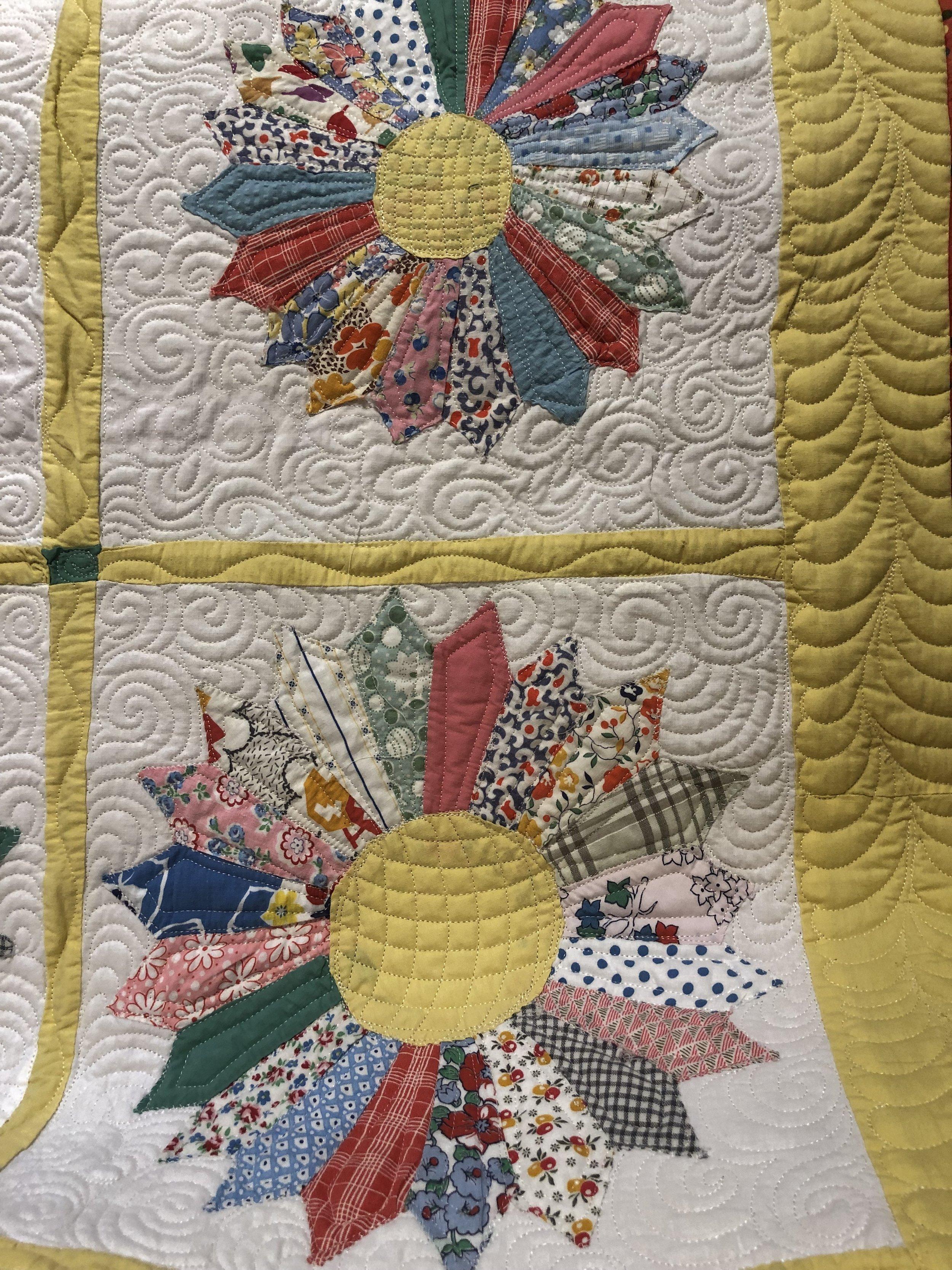 Dresden Plate Front Closeup 2