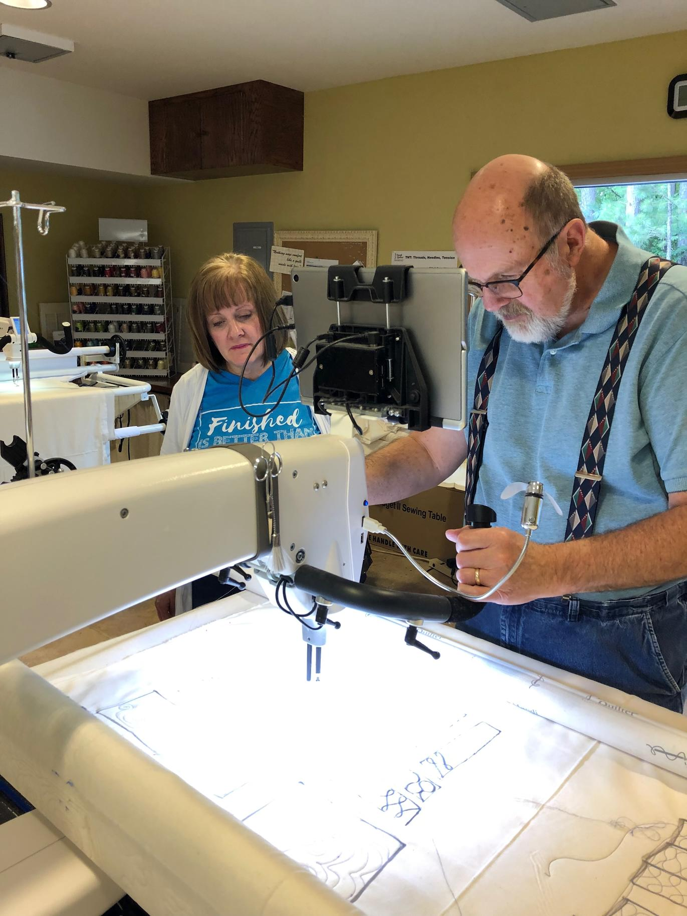 Longarm Free-Motion  Instruction