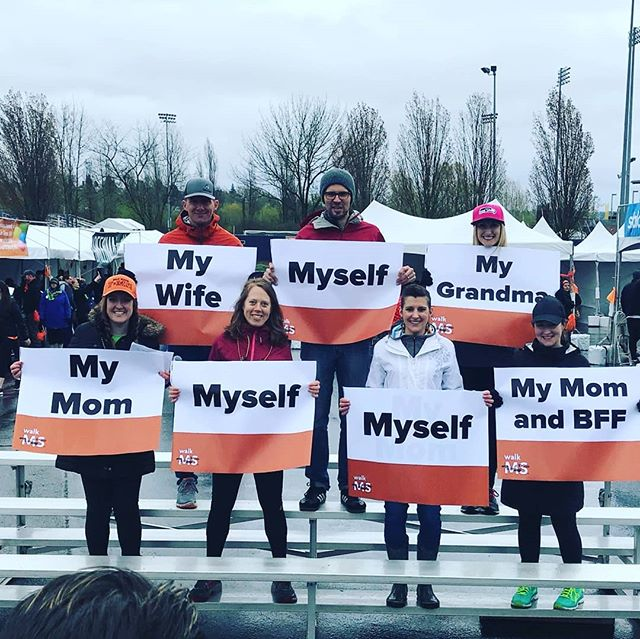 This is why we #WalkMS! What is your reason?