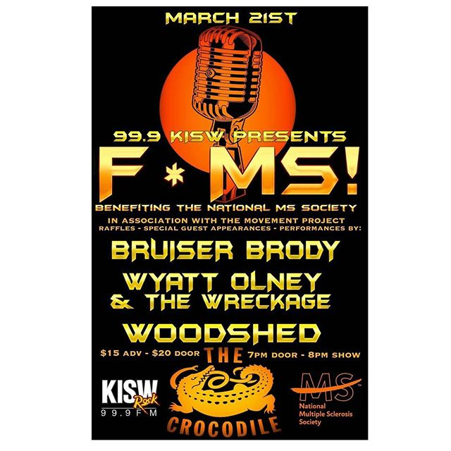 Another event in the works in hopes of making #MultipleSclerosis a thing of the past! Come rock out! #MS