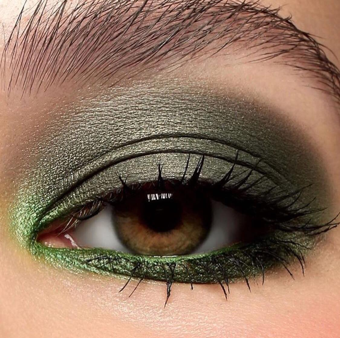 Main Inspiration for the eyeshadow look; click image to see original post
