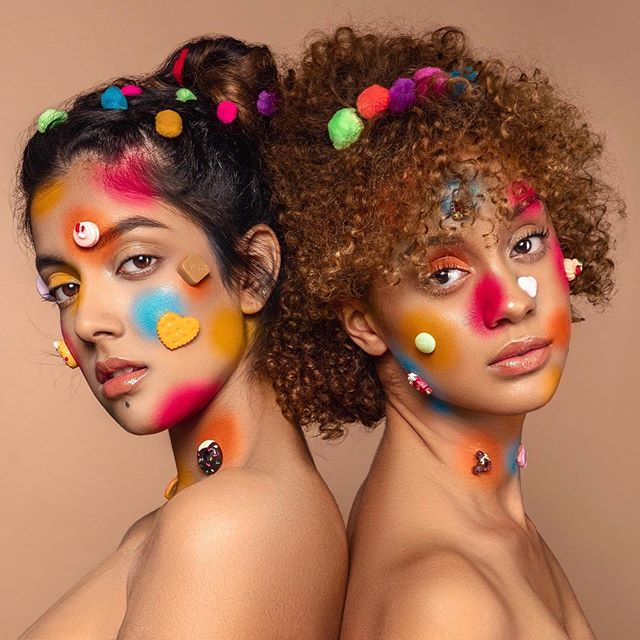 "Swipe➡️➡️➡️to see close ups from this shoot titled ""Color Theory"" in honor of #PrideMonth2019 ❤️🧡💛💚💙 Published in @imiragemagazine Photo/MUA/Retouch 