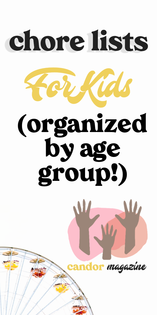 chore-lists-for-kids-by-age