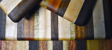 Cutting Boards - Our cutting boards are each handmade of the best quality hardwoods around. Check out our unique handmade Oregon shaped boards.