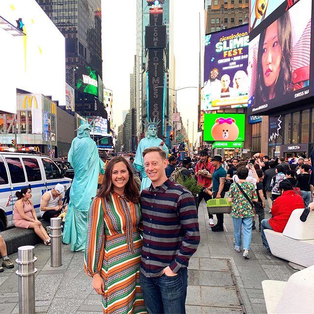 Times Square ❤️🗽 #30thbirthdayweekend