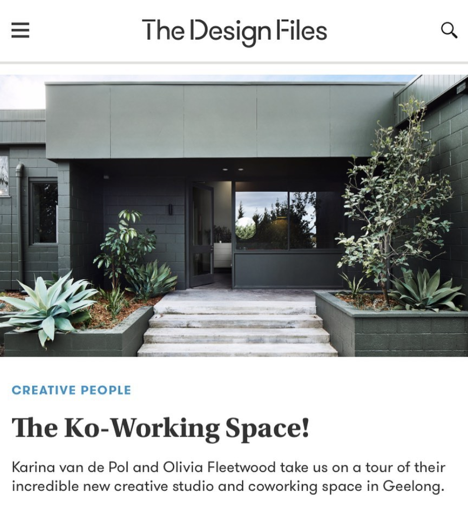 Read about us on The Design Files   here  .