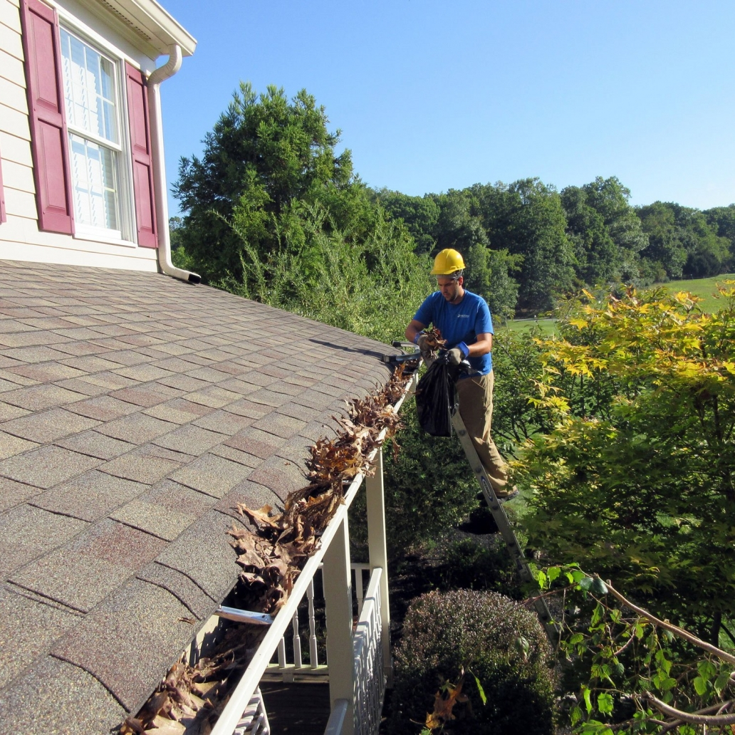 2. Preparation - Next, our expert installers will clean & get your gutter system ready for your MasterShield gutter protection installation, to make sure your gutter system works perfectly for a lifetime.-Clean and Repair entire gutter system.-Realign any gutters that need adjustment.-Reseal all corners, end caps, and down spouts with a 50 year silicone.-Install reinforcement brackets to insure your gutter systems permanent stability.