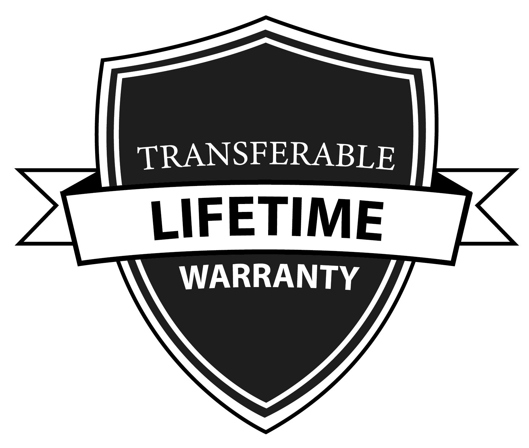 Best Warranty in the Industry! -