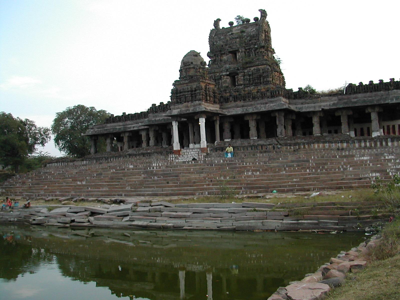 Hanuman Temple, Aiyankarkulam at the backside of our facilities.
