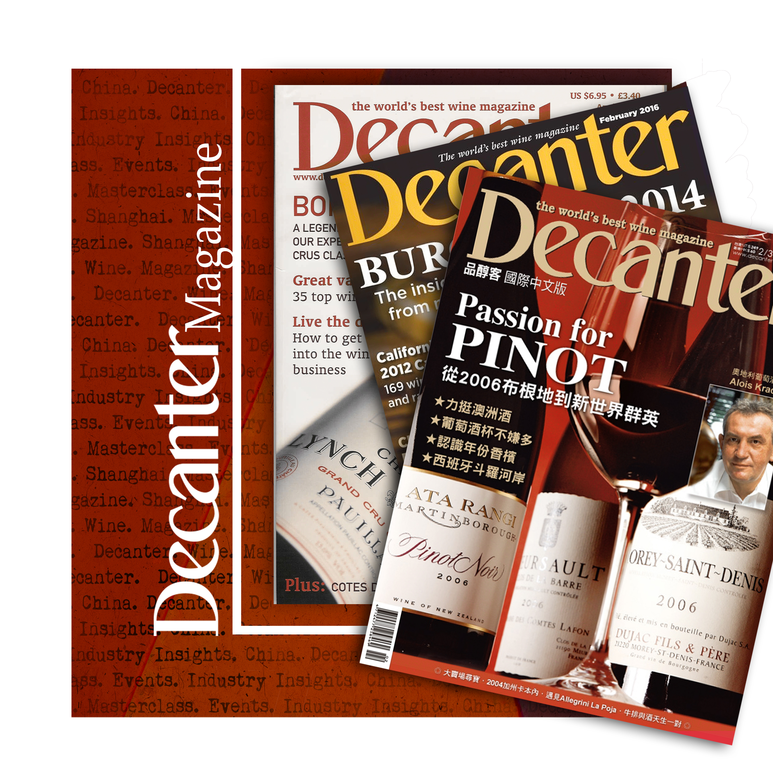 "- ""Authority, integrity, independence and everything you need to know about fine wine""John Stimpfig, Content Director of Decanter"