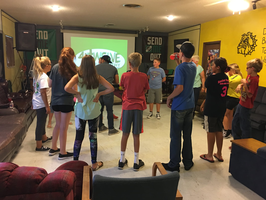 student Ministry - 4:twelve Student Ministries helps build awareness of God's active presence in our student's lives and encourages personal spiritual growth. We believe that students through the power of The Holy Spirit are world changers.