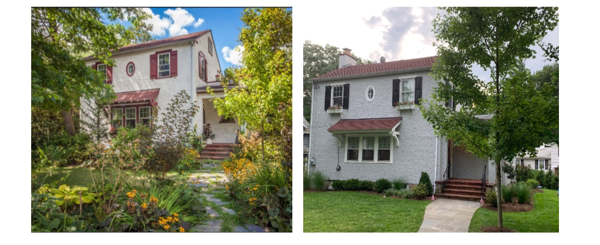 BEFORE & AFTER CURB APPEAL