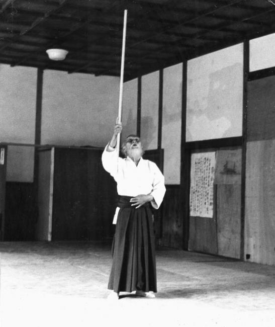 Founder of Aikido, O-Sensei Ueshiba Morihei