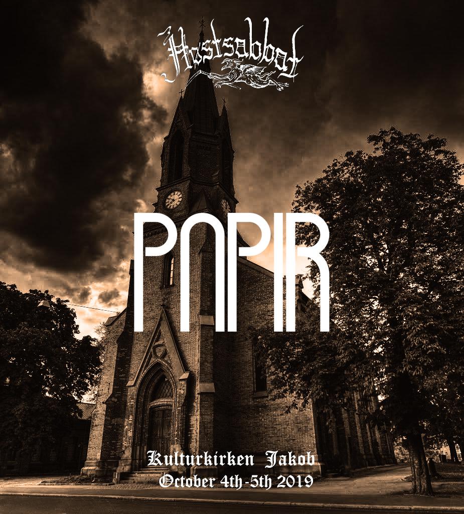 Papir Høstsabbat Stoner Psych Post Rock Metal