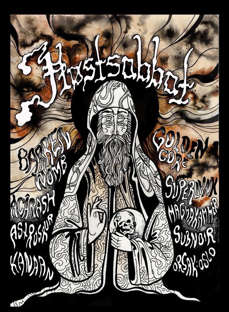 Verkstedet Høstsabbat Festival Stoner Doom Sludge Metal Rock 2019