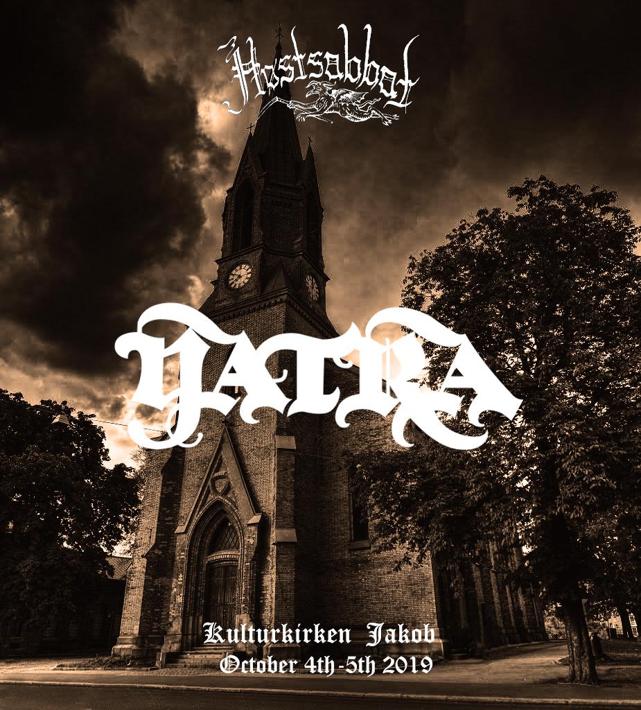 Yatra Høstsabbat Festival 2019 Stoner Doom Psych Sludge Prog