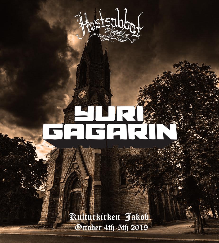 Yuri Gagarin Oslo Høstsabbat Festival 2019 Stoner Doom Psych Sludge Prog