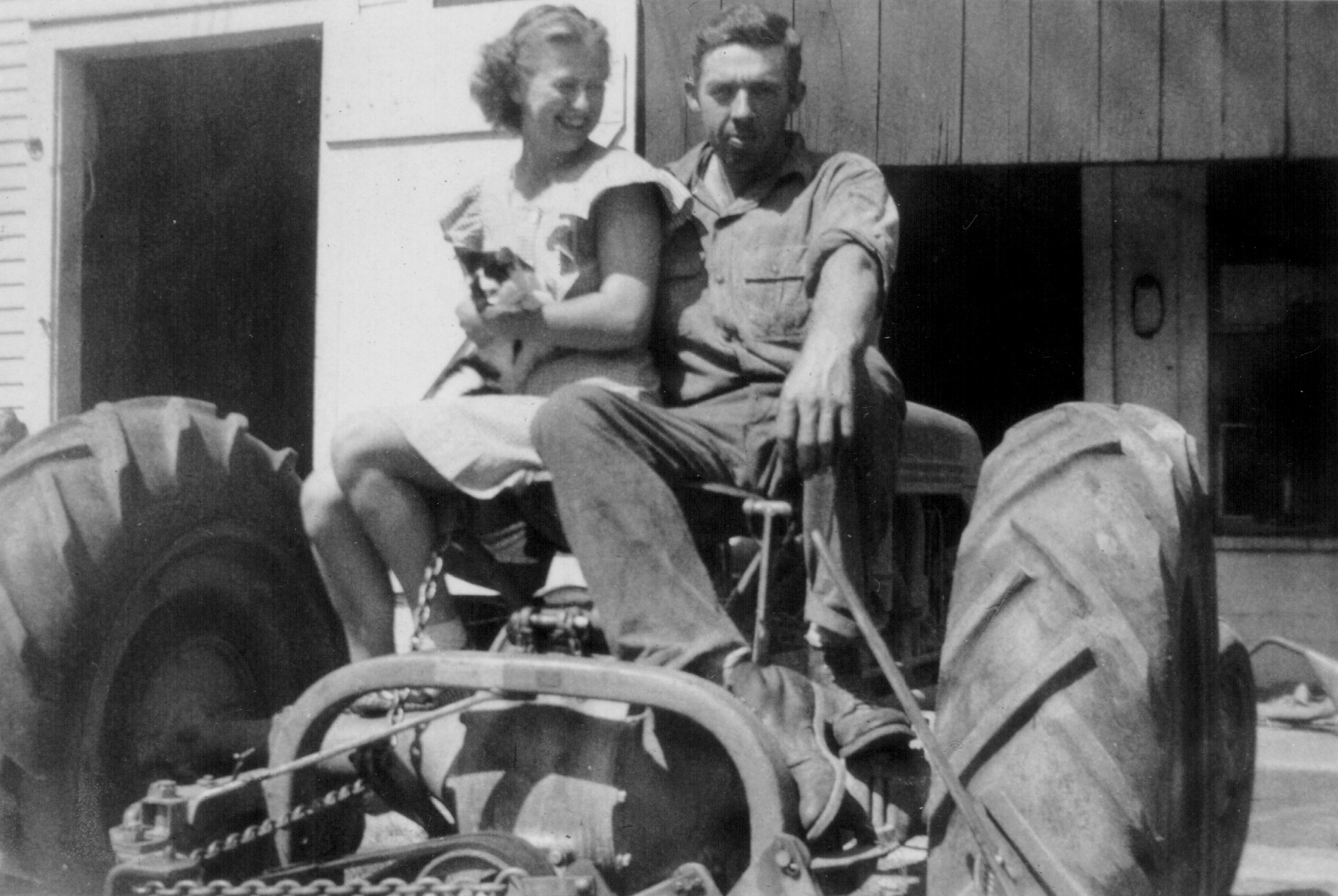 Malcolm and Pauline Clark 1945 -  Third Generation