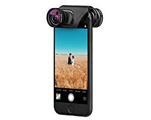 Smartphone Lenses - For the camera in everyone's pocket. Smartphone lenses take your phone photography to another level with macro, wide-angle and fish eye options. Olloclip makes some of the most popular iphone choices, but there's plenty more to choose from.