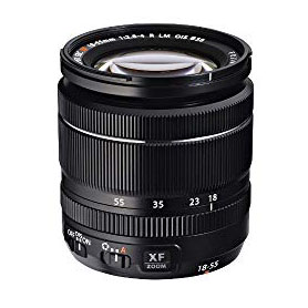 Fujinon XF 18-55mm F2.8-4 - All my lenses have built-in image stabilization which helps with capturing sharp, clear photos. This is my most versatile everday lens and the one I use most of the time. It's great for almost any photo you need to take on a typical day of exploring.