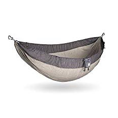 Kammok Roo Double Camping Hammock - Not camera gear, but my hammock is one of my favorite things to pack. It's big enough for two people, super lightweight and you can even camp in it if you want to skip a tent. You can even clip it on to the outside of your bag to save space and Kammok hammocks also come with a lifetime warranty.