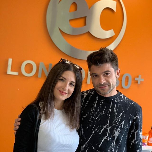 Our latest social media influencer tour with Luca and Katy from Italy exclusively for @ecenglish started yesterday in London and today they're exploring @eclondon_uk . #social #media #influencer #intled #London